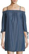 Velvet Heart Lalaine Off-the-Shoulder Chambray Dress