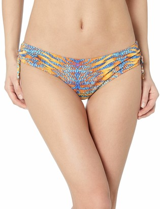 OndadeMar Women's Turmeric Medium Coverage Bikini Bottom