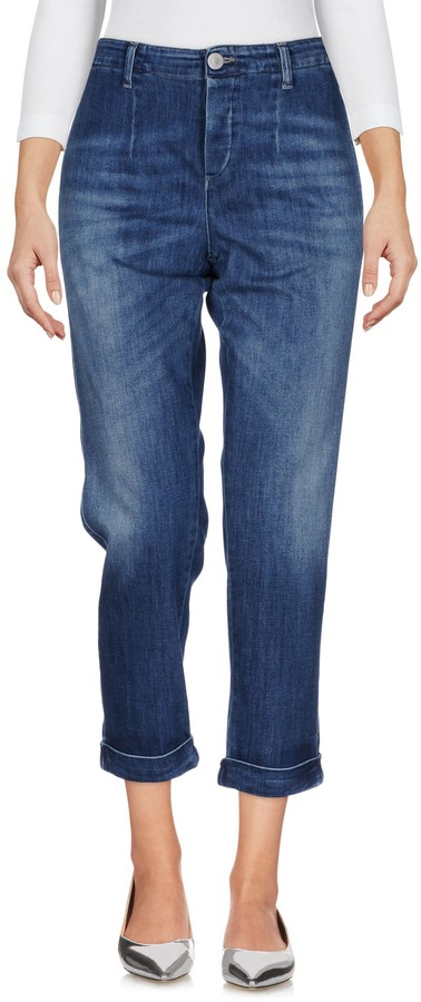 Care Label Denim pants - Item 42625981RK
