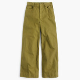 J.Crew Cotton canvas high-waisted pant