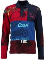 Desigual Polo Shirt Directoire Blue