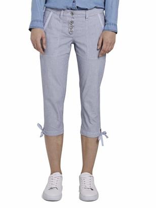 Tom Tailor Women's Freizeithose Trouser