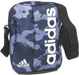 adidas Linear Logo Graphic Small Goods Bag Tactile Blue/Collegiate Navy/White