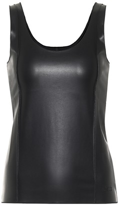Peter Do Faux leather tank