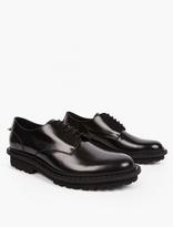 Neil Barrett Black Leather Derby Shoes