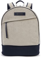 WANT Les Essentiels Kastrup 13 Faux Suede And Nylon Backpack