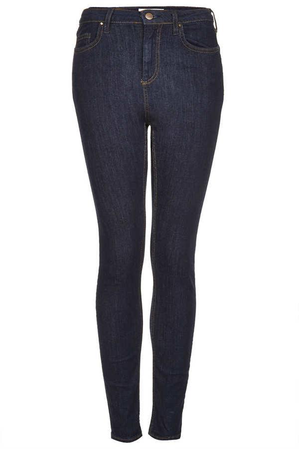 Topshop Moto blue rinse jamie jeans