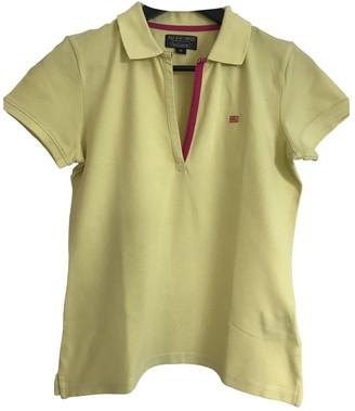 Ralph Lauren Yellow Cotton Top for Women Vintage