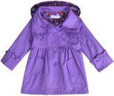 Arshiner Girl Kid Flower Waterproof Hooded Coat Jacket Outwear Raincoat Hoodies
