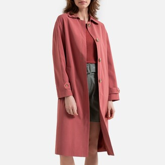 La Redoute Collections Long Draping Trench Coat