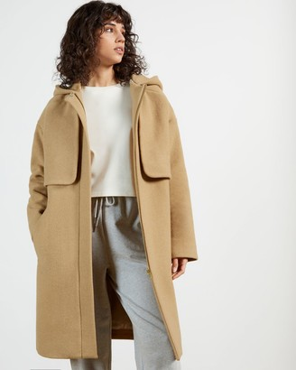Ted Baker Hooded Mid Length Coat