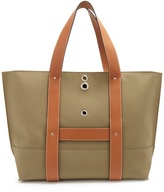 Loewe Canvas and leather tote