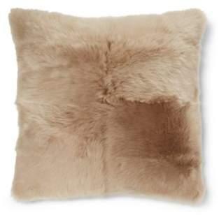 Ralph Lauren Bircham Shearling Throw Pillow