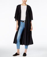 Free People Curved Gauze Duster Cardigan