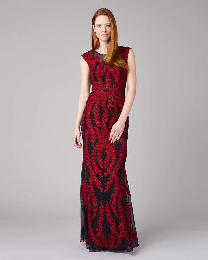 Phase Eight Azelia Tapework Dress