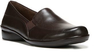 Naturalizer SOUL Leather Slip-on Loafers - Carryon