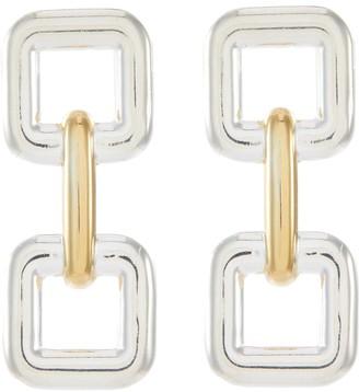 Philippe Audibert 'Errol' cutout square earrings