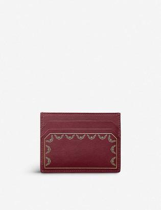 Cartier Guirlande de leather card holder