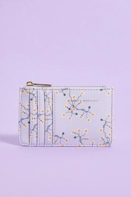 Estella Bartlett Floral Cardholder Wallet - Purple ALL at Urban Outfitters