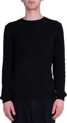 Mauro Grifoni Braids Sweater - Black