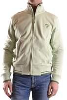 Dekker Men's Green Cotton Sweatshirt.
