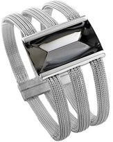 Baccarat So Insomnight Silver Crystal Bracelet.