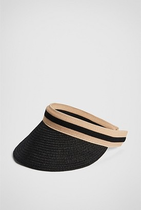 Witchery Stripe Trim Visor