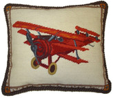 Petit Point Hkh International Plane Pillow