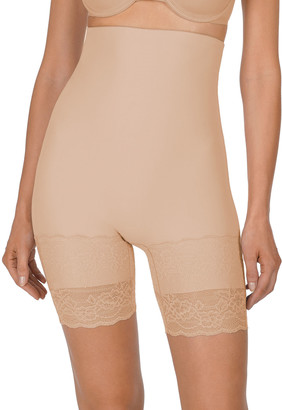 Natori Plush High-Waist Thigh-Slimmer Shaper