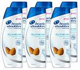 Head & Shoulders Head and Shoulders Dry Scalp Care With Almond Oil Dandruff Shampoo 13.5 Fluid Ounce (Pack of 6)
