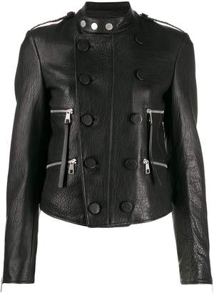 Neil Barrett double-breasted biker jacket
