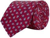 Turnbull & Asser Flower Pattern Silk Tie