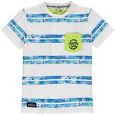 Soul Cal SoulCal All Over Print Pocket T Shirt Junior Boys