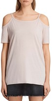 AllSaints Tyra Cold-Shoulder Top