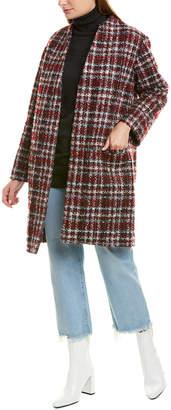 IRO Twisted Mohair & Wool-Blend Coat