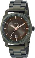 Fossil Men's 'Machine 3h' Quartz Stainless Steel Casual Watch, Color: (Model: FS5389)