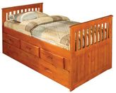 Cambridge Silversmiths Hillcrest Trundle Storage Bed