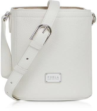 Furla Set Mini Drawstring Leather Shoulder Bag