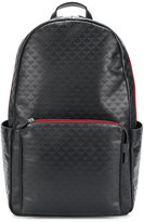 Emporio Armani embossed logo backpack