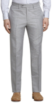 Brooks Brothers Grey Linen and Cotton Dress Trousers