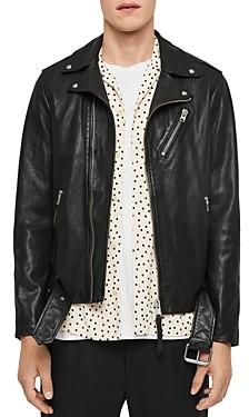 AllSaints Rigg Leather Biker Jacket