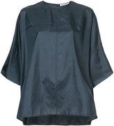 Jil Sander panelled blouse