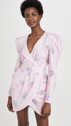 Philosophy di Lorenzo Serafini V Neck Long Sleeve Mini Dress