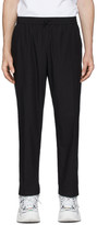 Kenzo Black Cropped Tapered Lounge Pants