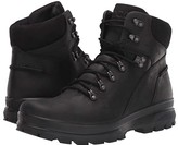 Ecco Sport Rugged Track Plain Toe (Black/Black) Men's Boots