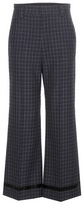 Marc Jacobs Check Wool Trousers