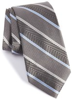 Nordstrom Chevron Stripe Silk Tie