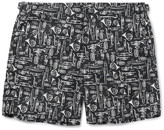 Dolce & Gabbana Mid-Length Printed Swim Shorts