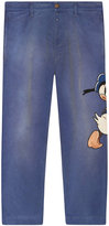 Gucci Denim pant with embroideries