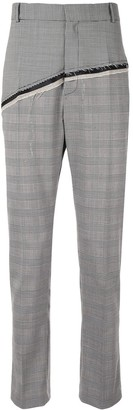 Cmmn Swdn D'Angelo checked straight-leg trousers